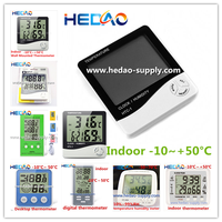 8 years' top selling alibaba china wall clock house temperature indoor digital thermometer
