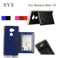 new style tpu case and leather wallet flip leather cover for huawei ascend mate 7 s