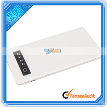 2014 Newly High Capacity Quality 5000mAH External Portable Mobile Power Bank