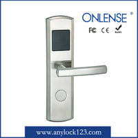 304 stainless steel card reader hotel door lock