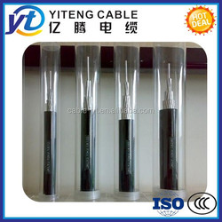 single core or multi core low voltage ABC Cable professional supplier/overhead power cable China
