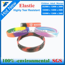 Unique Design Silicone Printing Wristband Highly Technology