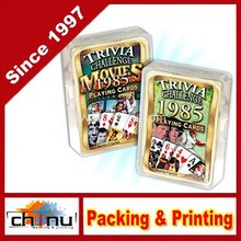 Happy 30th Birthday 1985 Trivia Playing Cards & 1985 Movie Trivia Playing Cards (430117)