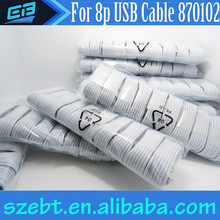 promotional for apple iphone 5 data cable bulk micro charger usb cable good quality