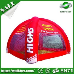 2015 Popular pink camping tent,fun camp tent,inflatable air tent camping