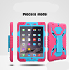 360 Degree Rotating Stand Case With dual protetive cover for ipad mini/ for ipad air