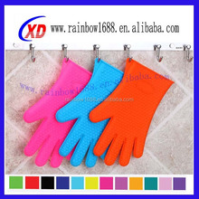 silicone gloves finger/silicone microwave glove/cook gloves