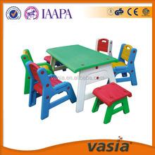 Дети пластиковый стол и стул для изучения, малыш стул