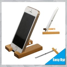 Multifunction cell for iphone 5 6 wood phone holders cell phone wood holder for iPad wood stand