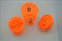 eco-friendly,2015 Hot selling 16oz hard plastic cup with lid and straw
