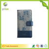 Leather Fabric Card Holder Smart Flip Phone Case for iPhone