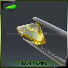 New Jewelry Peridot Wholesale Loose Round Cut Cubic Zirconia Price