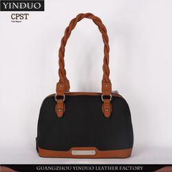 Luxury Hot-Stamping Ladies Hand Bag Manufactory