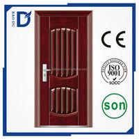 2015 lastest modern steel doors metal frame security steel doors used exterior security steel doors for sale
