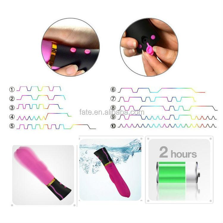 Magic Modern Silicone AV vibrator massage for the pussy rotating mp3 vibrator