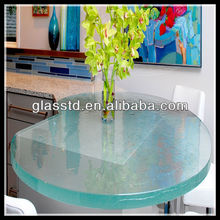 European style round fusion dining island table top