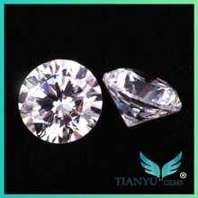 4.0MM AAA Round Brilliant Cut 100 Facets White Synthetic Cubic Zirconia