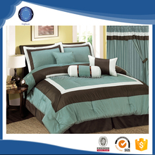 Wholesale 7pcs patchwork comforter set with matching curtain prices