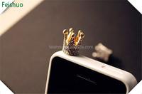 Designer Crazy Selling anti dust plug cap for iphone 4 4s