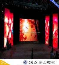 full color p4 mm rental led video display P12 RGB wall / p2.5 p3 p4 rental video led display sign