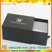 Draw type custom paperboard gift box made in china