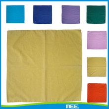 fashion square solid plain yellow bandana