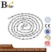 Fancy 925 silver new gold chain design girls, 925 silver chain