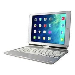 360 folding wireless keyboard Keyboard for Ipad air , aluminium alloy and ABS wireless bluetooth keyboard