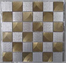golden silver fireworks raw material aluminum of elegant 48x48 mosaic