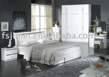 High Gloss White Bedroom Furniture Set Buy High Gloss White Bedroom
