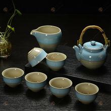TG-414W226-C-2 glass tea set made in China tibetan buddhist mala beads
