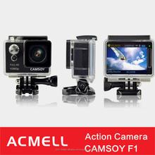 Camsoy F1 30m wifi 12MP fotocamera impermeabile sj6000 di sport
