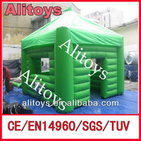 outdoor advertising inflatable tent,inflatable green tent,inflatable tent house