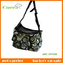 Printed Canvas Fashion Dog And Cat Shoulder Bag
