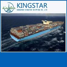 ocean freight forwarder ems shipping rates from china shenzhen guangzhou/shanghai/ningbo etc