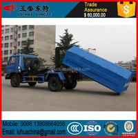 RHD China garbage truck 1-2cbm FORLAND roll on roll off garbage truck
