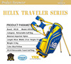 Helix new design nylon golf stand bag / Helix original design stand golf bag /custom golf stand bag