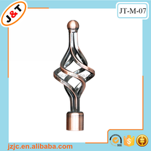 hot sale stretch 16/19mm and 25/28mm diameter AC curtain rod in Middle East