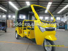 Electric motor trike for passenger