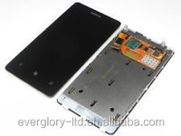 For NOKIA Lumia 800 screen, LCD Display Touch Screen Digitizer With Frame Assembly For NOKIA Lumia 800