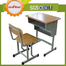 Dimensioni standard arredi scolastici, scuola di mobili in legno studente scrivania per la vendita