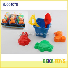 Colorful new design PP plastic mini sand beach toys