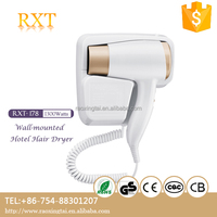 RXT-178 wholesale hotel equipments wall mounted dubai holder hair mobile phone style portable hair dryer