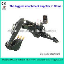 skid loader attachment backhoe,bobcat attachment,backhoe