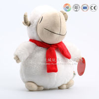 Plush round sheep,plush fat tai sheep