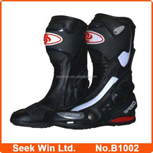 Wholsale Motorcycle Racing Boots Men Pro biker Motocross Shoes High Speed Botas B1002