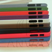 New Ultra Slim Matte Phone Back Cover Case For iPhone 5 5S Premium Matte Quicksand Hard Case 10 colors free shipping