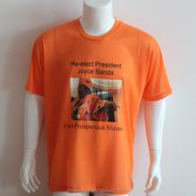 Custom t shirt printing,design cotton men's t shirt wholesale china election t shirt