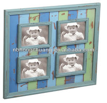 Beach Themed Wooden Photo Frame For Home Deco