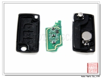 Car Remote Control 434Mhz for Peugeot blank key fobs 3 Button remote after 2011 [ AK009025 ]